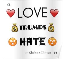 Love Trumps Hate - Version 2 Poster