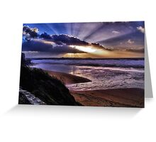 Watergate Bay Greeting Card