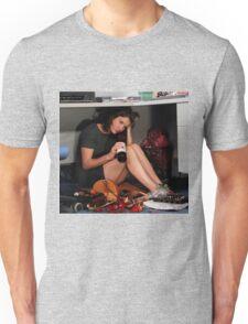 robin drinking wine  Unisex T-Shirt