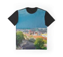 Storm Approaching Buda Over Pest Graphic T-Shirt