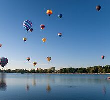 Pikes Peak Balloon Festival, Colorado by Jeff Chavez