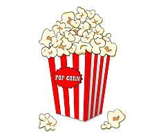 Popcorn time Photographic Print