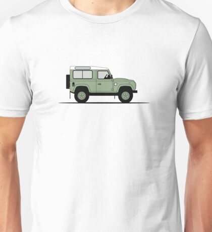 A Graphical Interpretation of the Defender 90 Station Wagon Heritage Edition Unisex T-Shirt