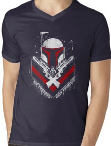 Boba Fett - Only Promises Mens V-Neck T-Shirt