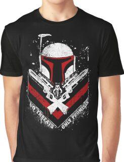 Boba Fett - Only Promises Graphic T-Shirt