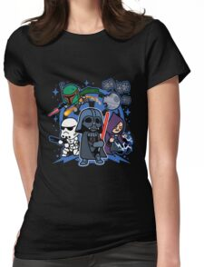 Boba Fett - Darth Vader And Friends Womens Fitted T-Shirt