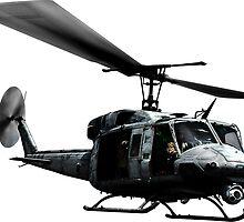 UH-1N Twin Huey by deathdagger
