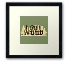 Shaun Ed I Got Wood Framed Print