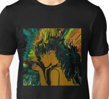 Mother and Daughter Out For The  Evening Unisex T-Shirt