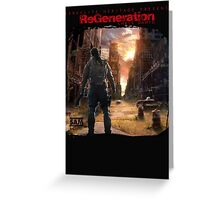 ReGeneration by Chris Dawid Greeting Card