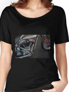 Close up on motorcycle body Women's Relaxed Fit T-Shirt