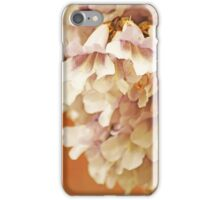 White with Purple Flower iPhone Case/Skin
