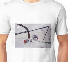 Detail of white vintage classic car Unisex T-Shirt