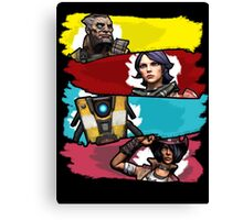 Back to the Borderlands Canvas Print