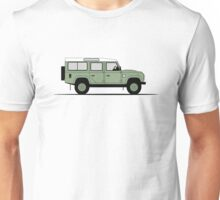 A Graphical Interpretation of the Defender 110 Station Wagon Heritage Edition Unisex T-Shirt