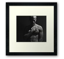 The Sensuality of the Hand Framed Print