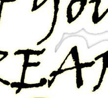 Wizard Of Your Dreams (Black) Sticker