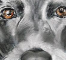 Wire-haired terrier  Sticker