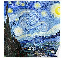Starry Night, Vincent van Gogh Poster