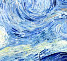 Starry Night, Vincent van Gogh Sticker