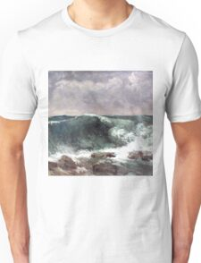 The Wave, Gustave Courbet Unisex T-Shirt