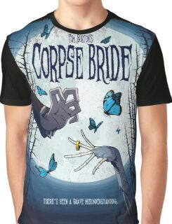 CORPSE BRIDE POSTER Graphic T-Shirt
