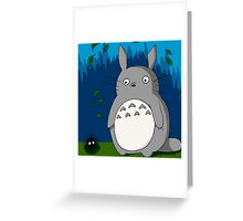 Totoro and Soot Greeting Card