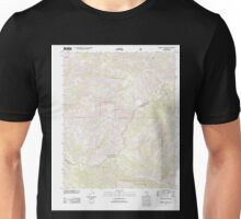 USGS TOPO Map California CA Chimney Canyon 20120323 TM geo Unisex T-Shirt