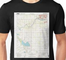 USGS TOPO Map California CA Brush Lake 100519 1969 24000 geo Unisex T-Shirt