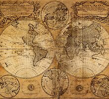 World Map 1736 by solnoirstudios