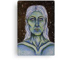 Lady Stardust Canvas Print