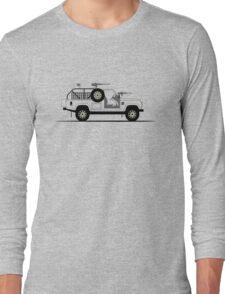 A Graphical Interpretation of the Defender 110 XD E-WMIK Long Sleeve T-Shirt