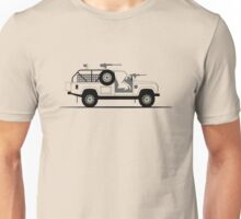 A Graphical Interpretation of the Defender 110 XD E-WMIK Unisex T-Shirt