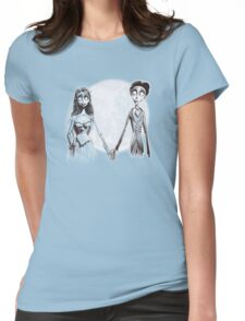CORPSE BRIDE WEDDING Womens Fitted T-Shirt
