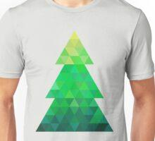 Triangle Christmas Tree Unisex T-Shirt