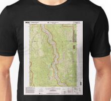 USGS TOPO Map California CA Ah Pah Ridge 100332 1997 24000 geo Unisex T-Shirt