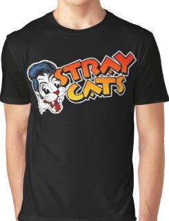 STRAY CATS ROCKABILLY Graphic T-Shirt