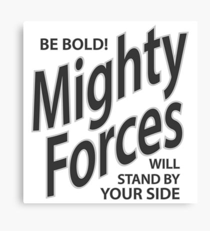 Mighty Forces Canvas Print