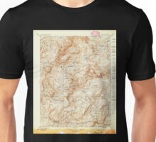 USGS TOPO Map California CA Bidwell Bar 299207 1897 125000 geo Unisex T-Shirt