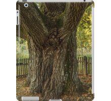 Thick oak trunk iPad Case/Skin