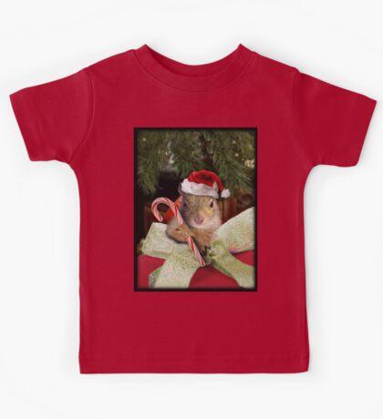 Christmas Squirrel Kids Tee