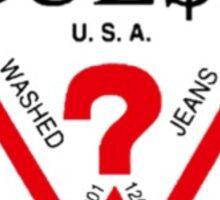 Guess x A$AP Rocky Sticker
