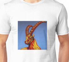 Steinbock blau Unisex T-Shirt