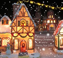 CHRISTMAS GREETING CARD by Colleen2012