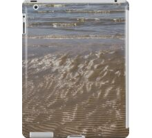 Painted by Sun and Waves - a Natural Abstract on the Beach iPad Case/Skin