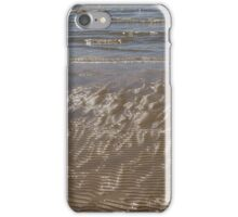Painted by Sun and Waves - a Natural Abstract on the Beach iPhone Case/Skin