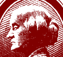 Susan B. Anthony casts her vote for...Hillary! Sticker