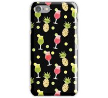 Tropical and Pineapples Pattern iPhone Case/Skin