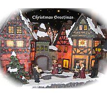 CHRISTMAS GREETINGS Photographic Print