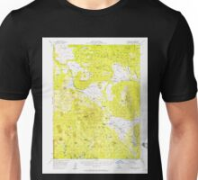 USGS TOPO Map California CA Harvey Mtn 297643 1956 62500 geo Unisex T-Shirt